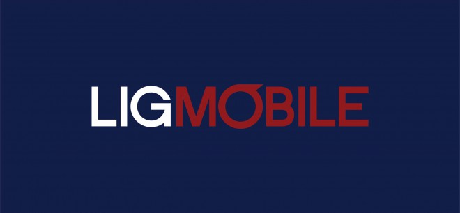 Logo LIGMóbile - azul